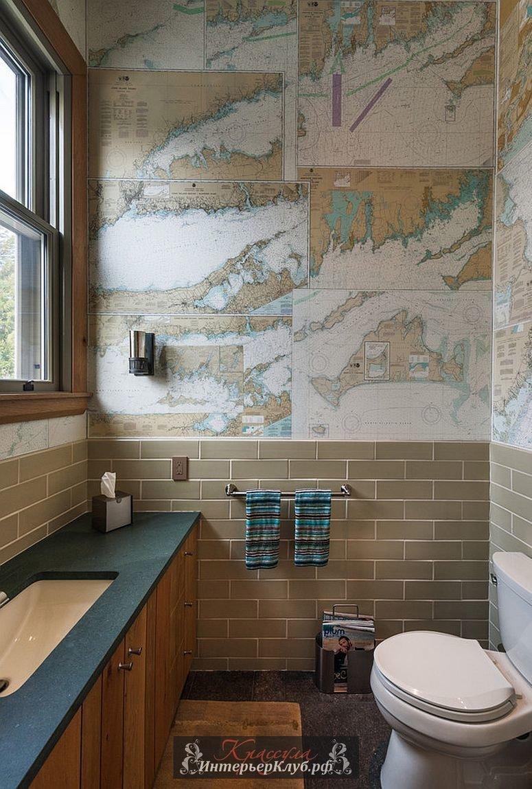 Декор ванной комнаты своими руками из подручных материалов фото