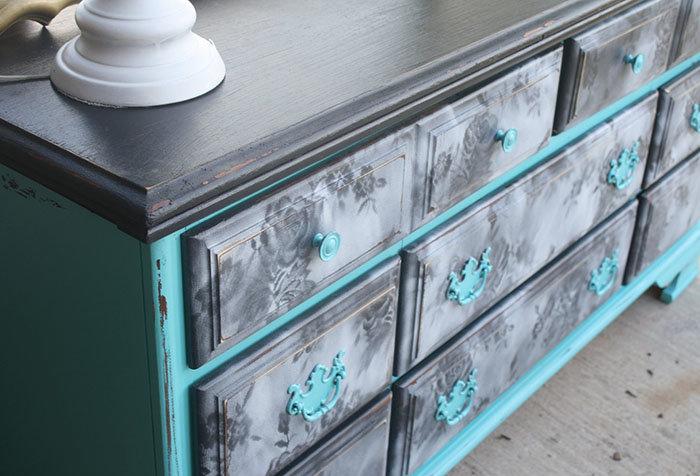 Покрасить шкаф акриловой краской своими руками 76