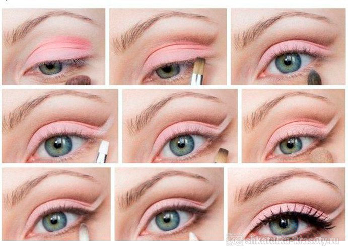 Как нарисовать карандашом поэтапно фото макияж6