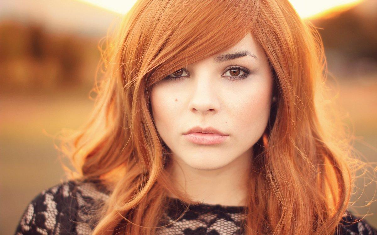 Фото макияжа для рыжих и кареглазых