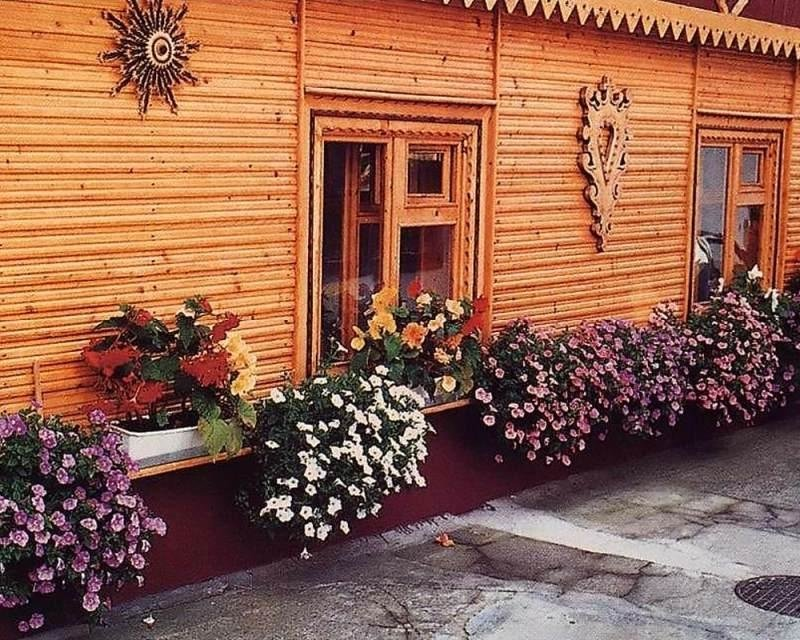 Цветник за окном своими руками 92