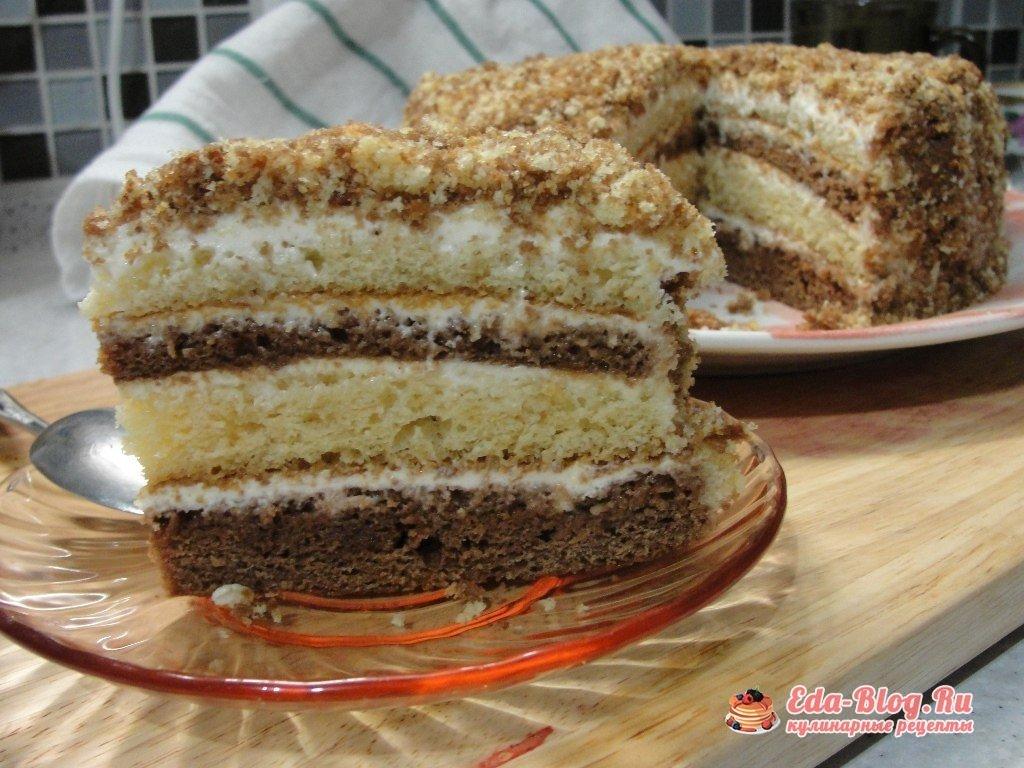 Быстро и вкусно торт сметанник