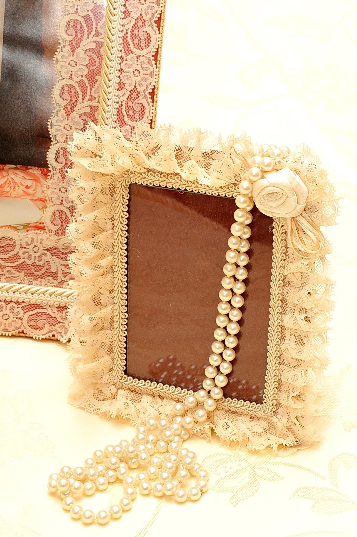 Украсить деревянную рамку для фотографий своими руками