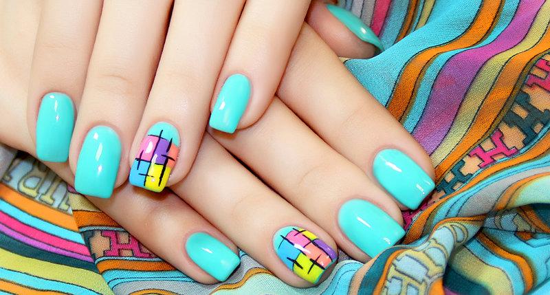 Дизайн лаками на ногтях мастер класс