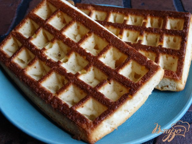 Простой рецепт вафель для электровафельницы с пошагово