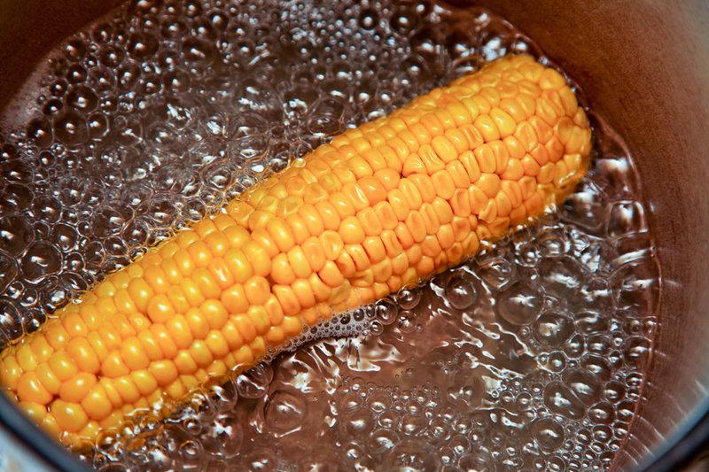 Вареная кукуруза пошаговый рецепт с фото