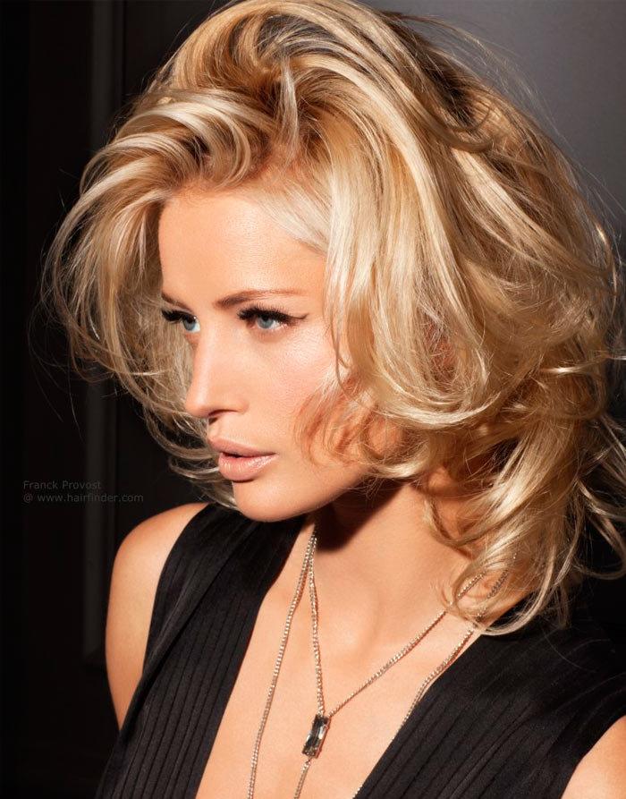 Стрижки для блондинок на средние волосы 2017-2018