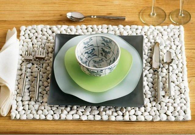 Салфетка своими руками под тарелку