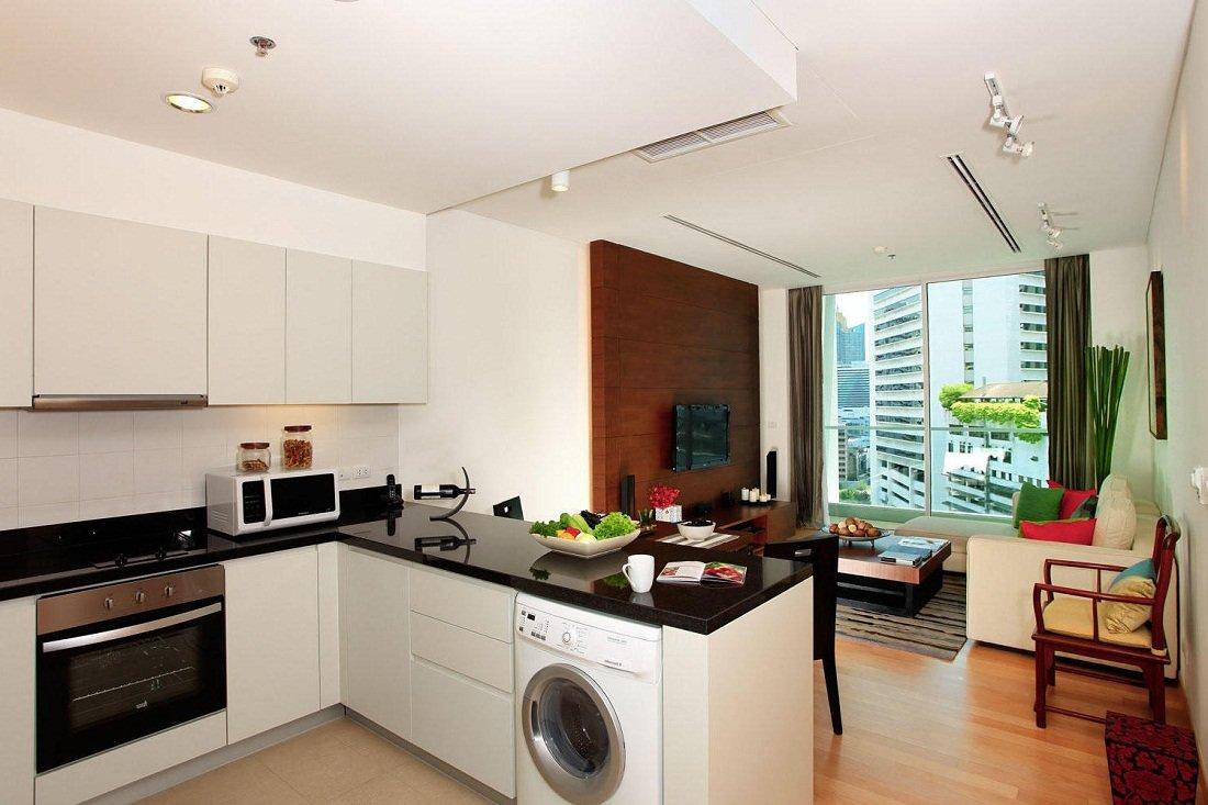 Маленькие кухни-гостиные дизайн