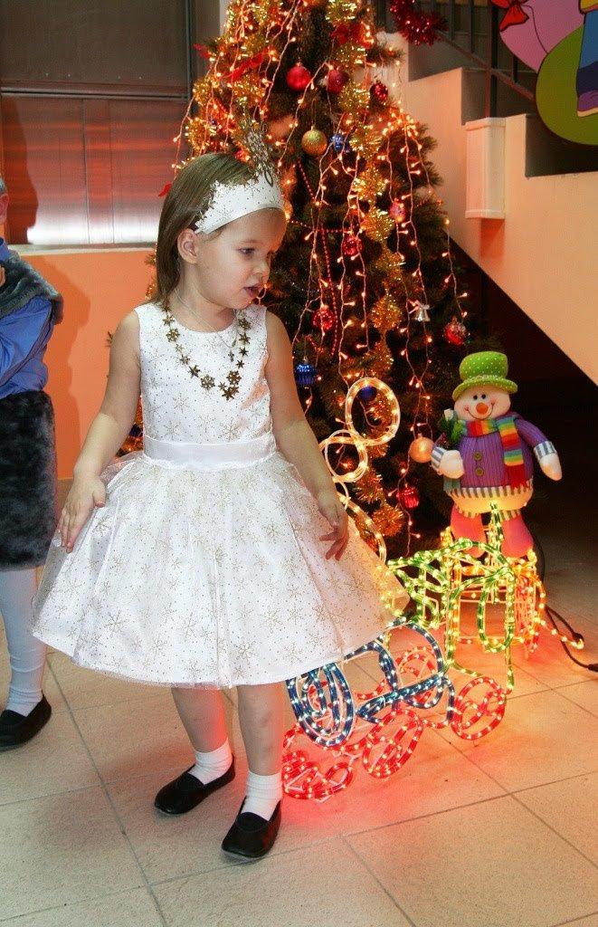 Платье новогоднее белое для девочик - карточка от пользователя romksu82 в Яндекс.Коллекциях