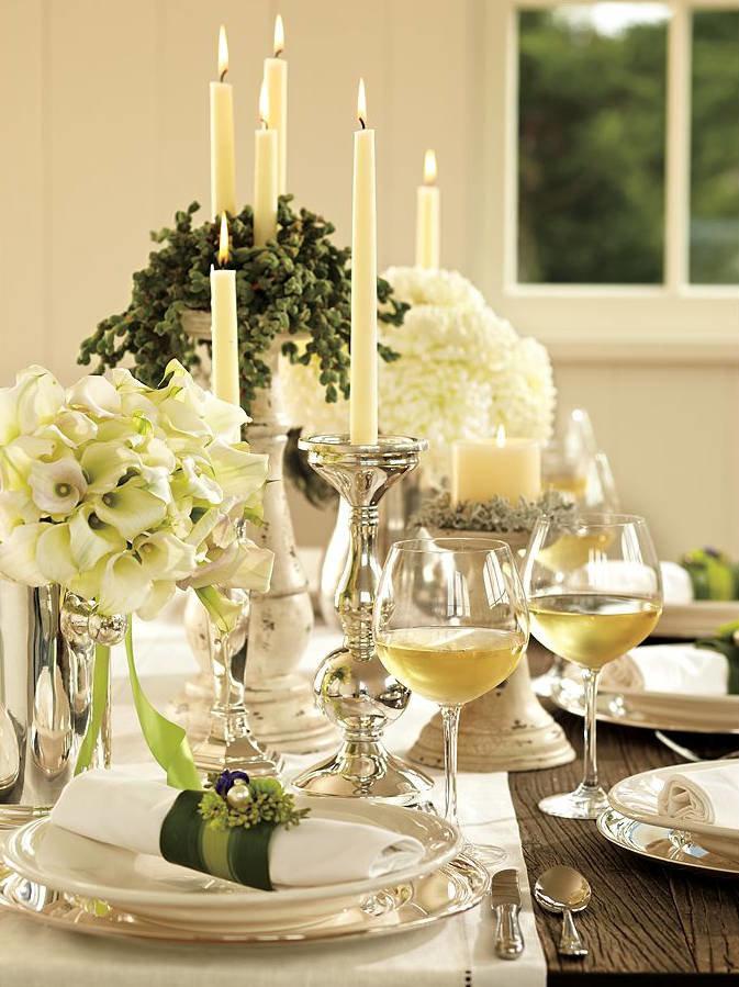 Изысканный праздничный столы с фото