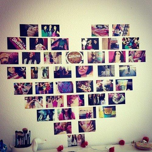 Как сделать стену с фотографиями