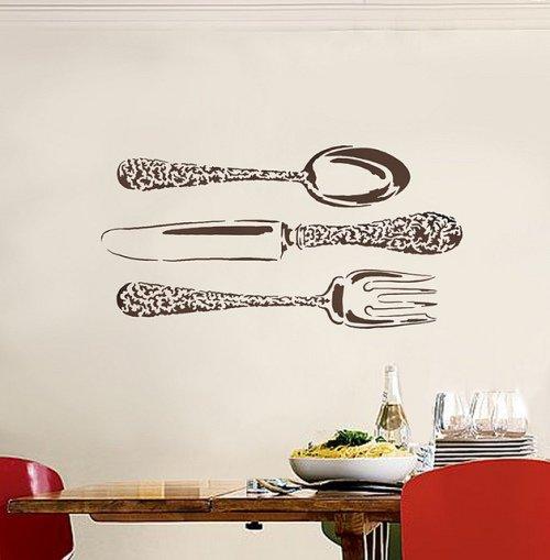 Трафареты для стен на кухне своими руками 266