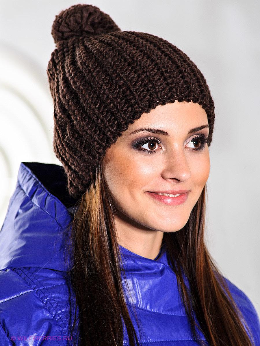 Вязание шапок с бомбошкой