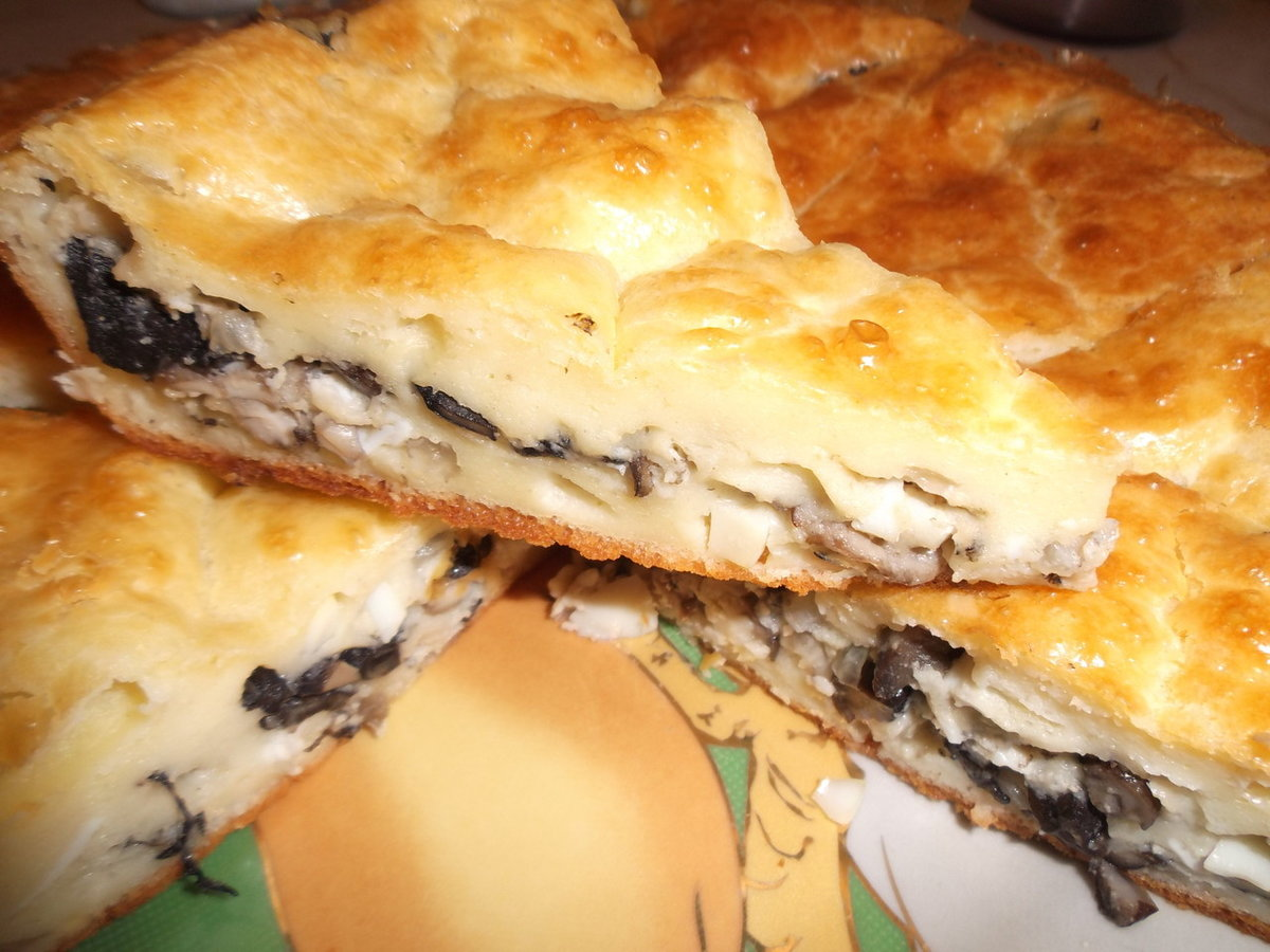 Начинка для пирогов с грибами рецепты