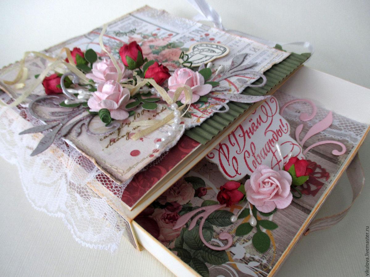 Коробка открытка на свадьбу 86