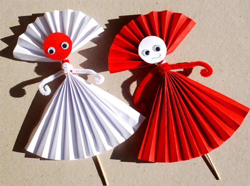 Поделки из бумаги своими руками фото для детей