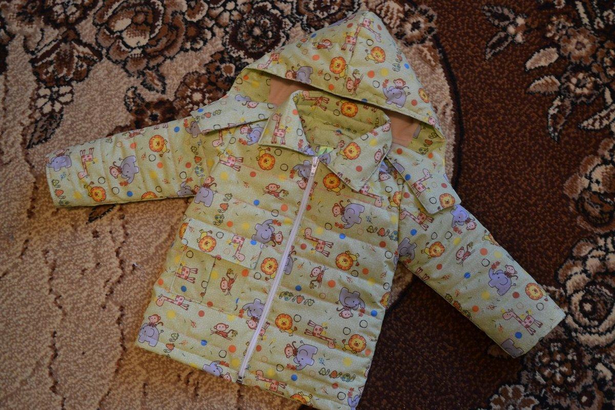Сшить куртку для ребёнка 196