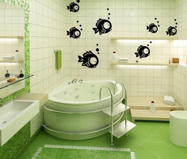 Плитка на стену в ванную комнату своими руками 52
