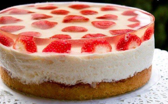 Рецепт торты с желе