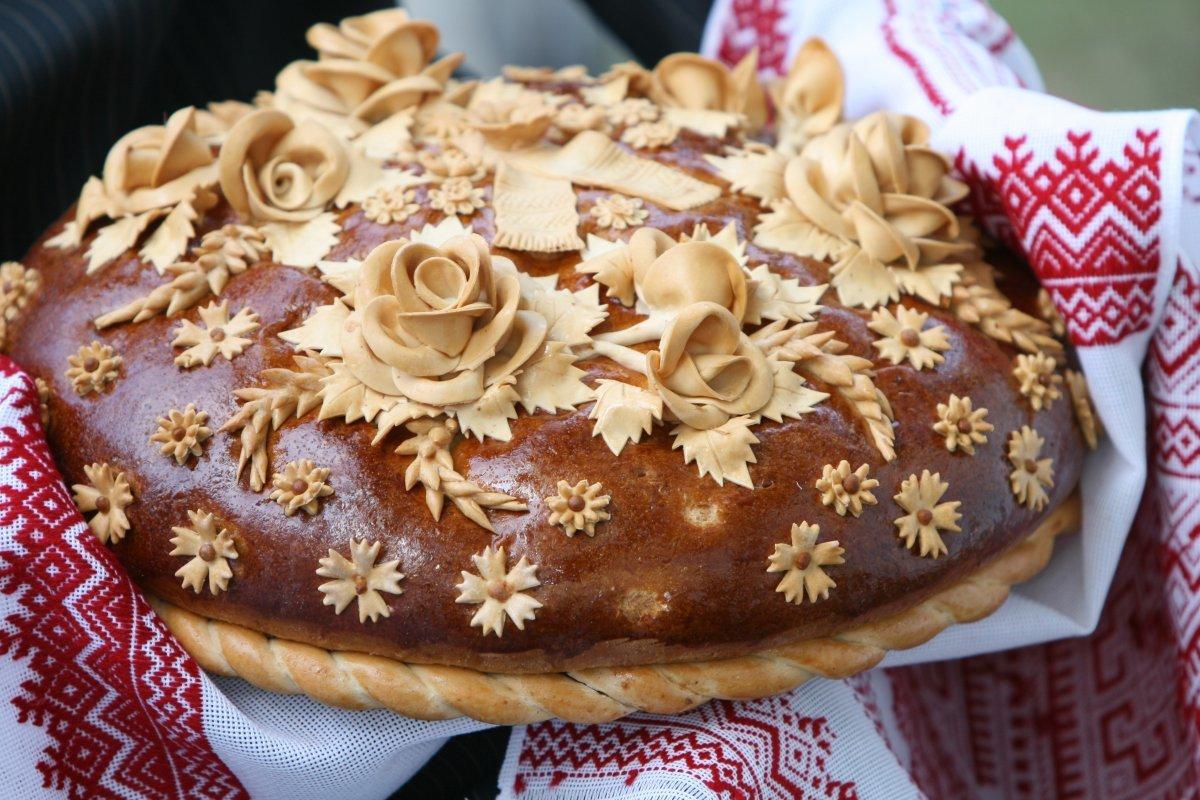 Пирог на свадьбу фото с солью