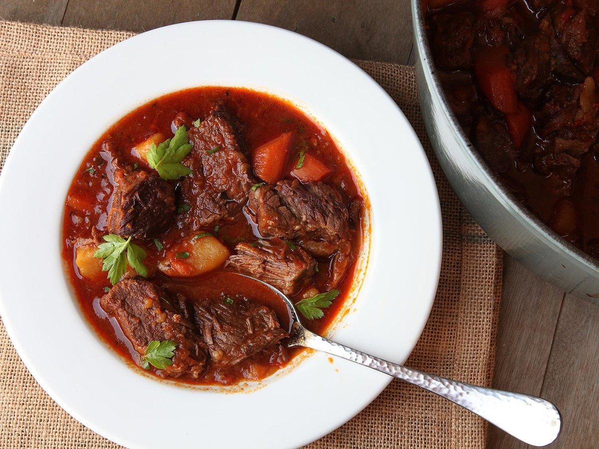 Говядина по-венгерски рецепт