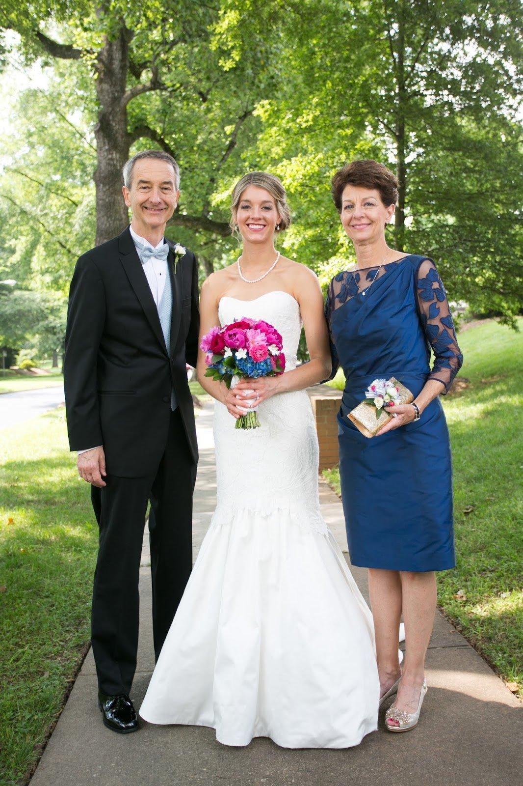 Фото родителей на свадьбах детей