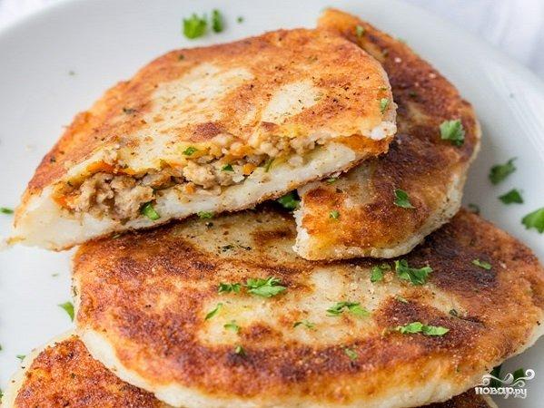 Рецепт котлет из фарша с картофелем с фото пошагово