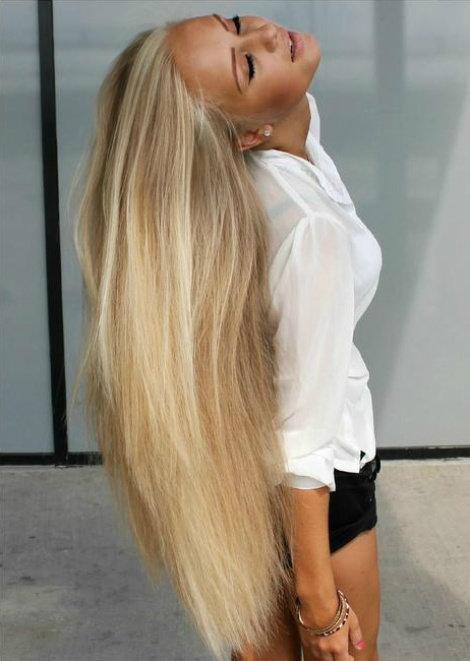 Как сделать свои волосы светлыми 144