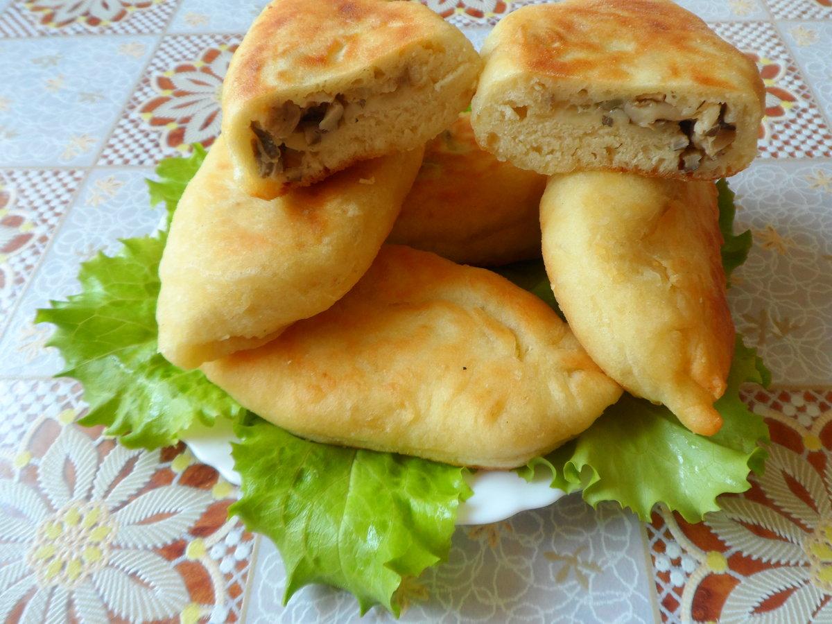 Пирожки с грибами рецепт