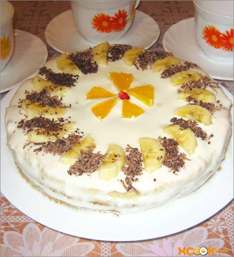 Рецепт торта сметанник классический с пошагово