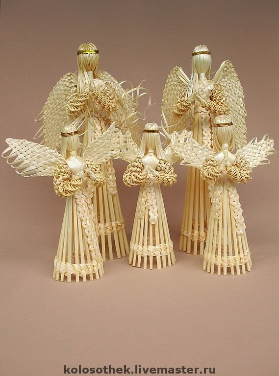 Ангел из соломки