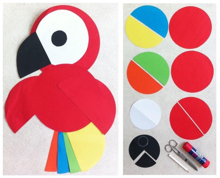 Поделки из кружков цветной бумаги