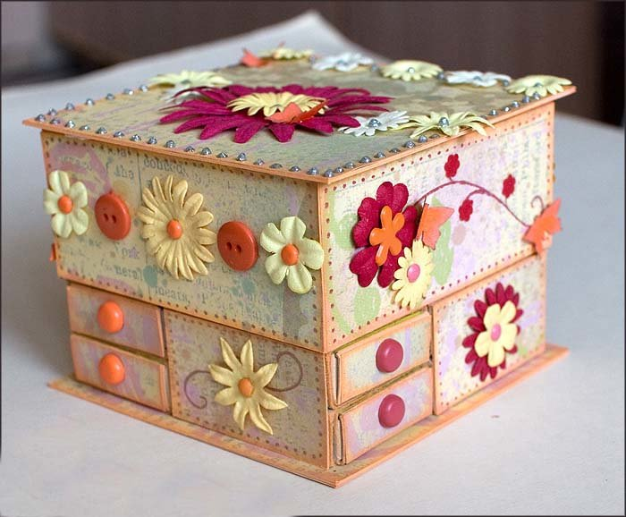 Как сделать красивую шкатулку в домашних условиях