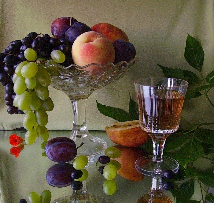 Ваза с фруктами рецепт