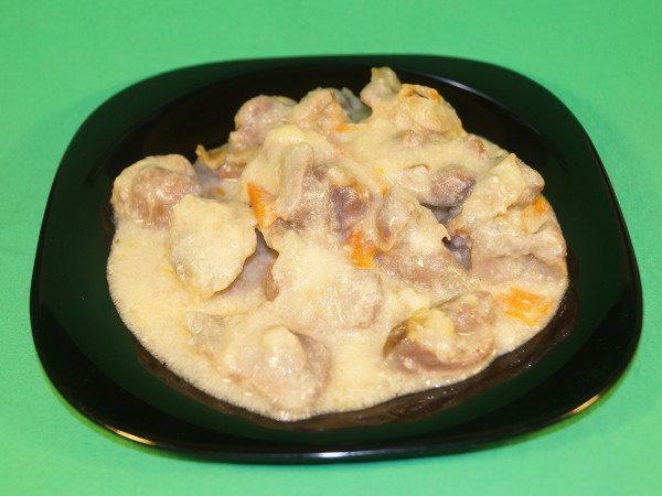 Как приготовить желудки куриные пошаговый рецепт