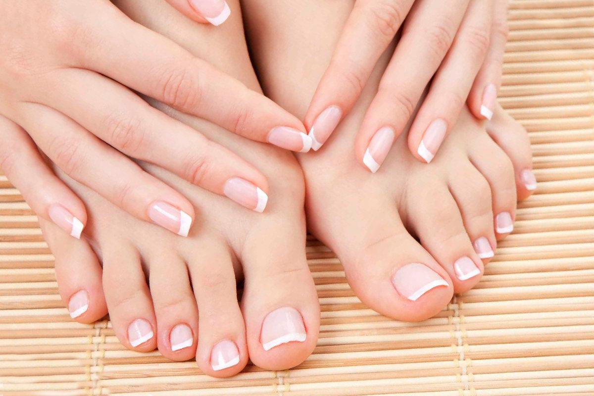 Фото рисунков ногтей рук и ног