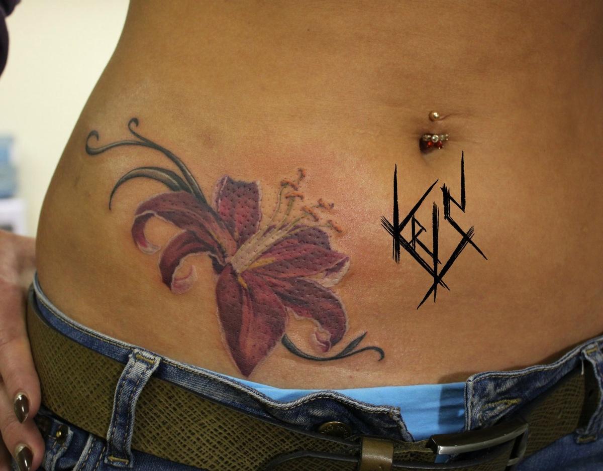 50 идей для маленьких красивых татуировок для девушек 19