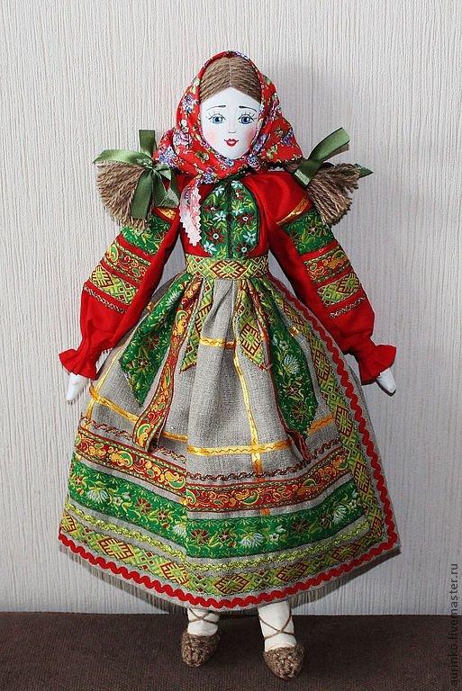Кукла в русском костюме своими руками 51