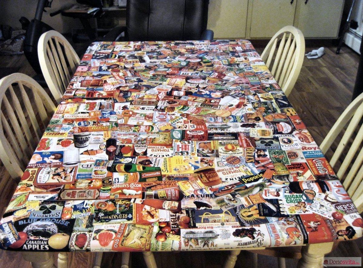 Газетный столик своими руками