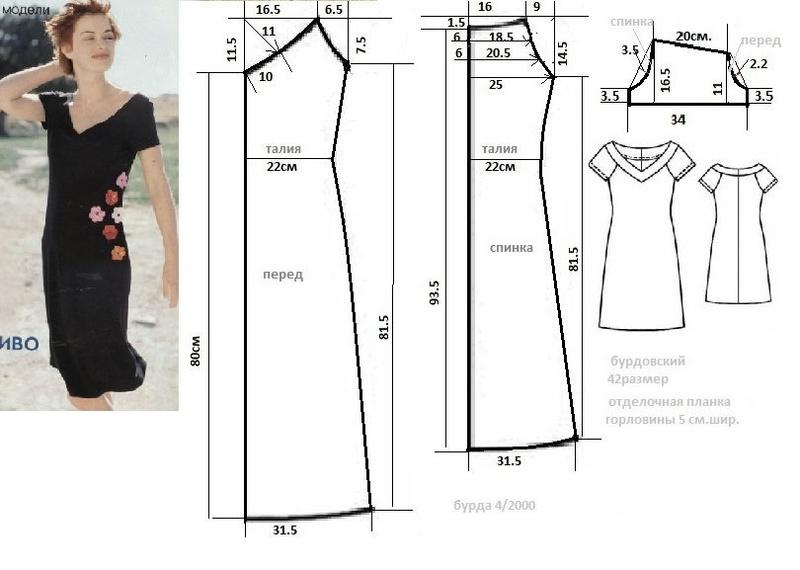 Вечернее платье своими руками шить легко и просто без выкроек