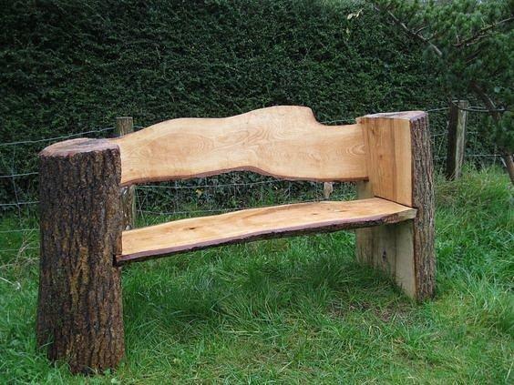 Оригинальная скамейка своими руками фото 195