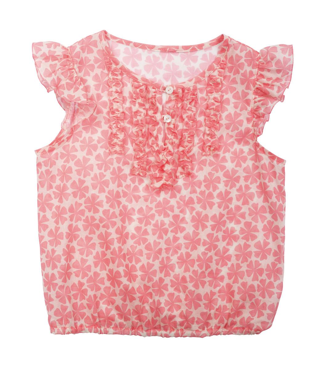Как быстро сшить летнюю блузку! 11