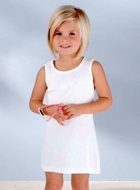 Фото модных стрижек для девочек короткие