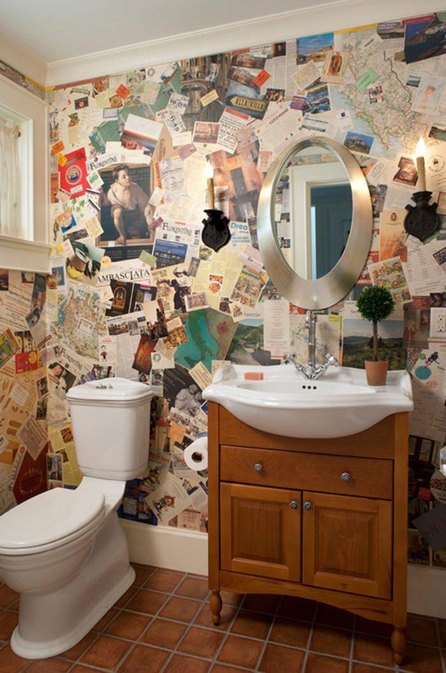Как украсить ванную комнату своими руками (39 фото идеи) 98