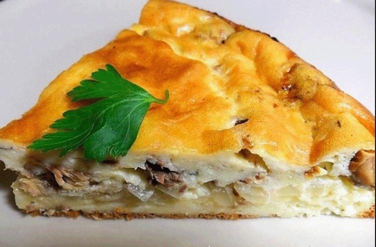 Пирог с рыбой заливной рецепт с фото пошагово в духовке