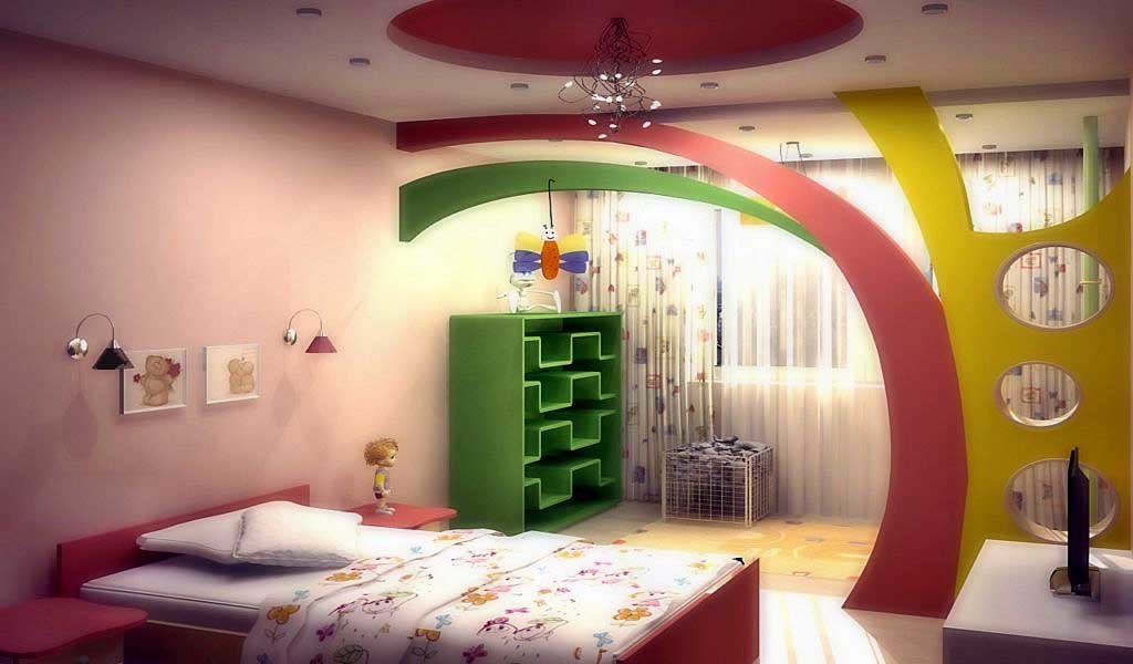 Как сделать взрослую комнату детской фото