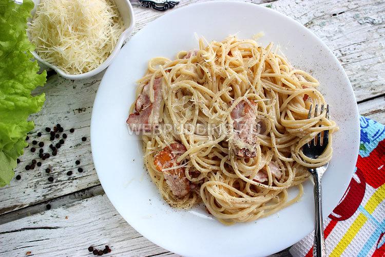 Спагетти карбонара рецепт в мультиварке