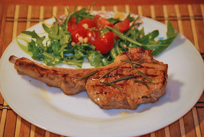 Рецепт телятина на кости