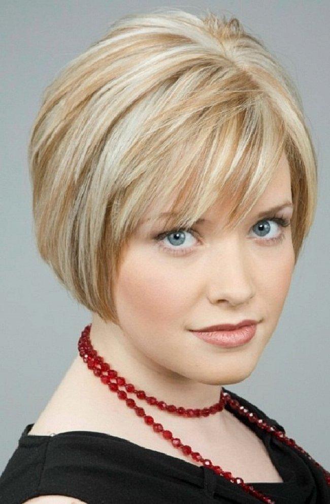 Фото причёсок на короткие волосы для женщин